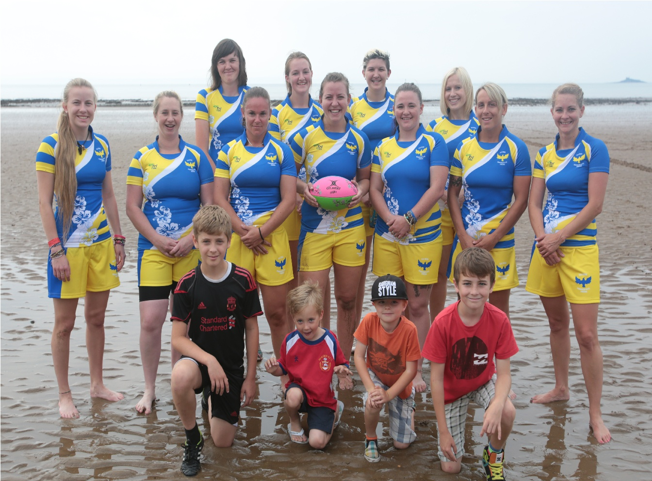 26.07.14 Beach Rugby Wales