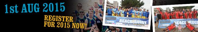 Register Now for Beach Rugby Wales 2014